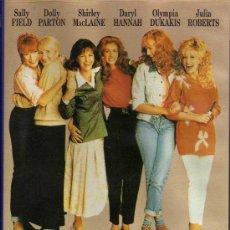 Cine: VHS - MAGNOLIAS DE ACERO - DARYL HANNAH / JULIA ROBERTS / SALLY FIELD ...... Lote 21678351