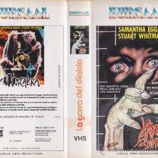 Cine: VHS\. MACABRA LA GARRA DEL DIABLO. • BIZARRA HORROR. SERIE B • DIR. ALFREDO ZACARÍAS • RARA, CULTAZO. Lote 26989424