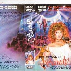 Cine: SANDY / VHS /SANDY STEVENSON - MICHEL GALABRU. Lote 21936765