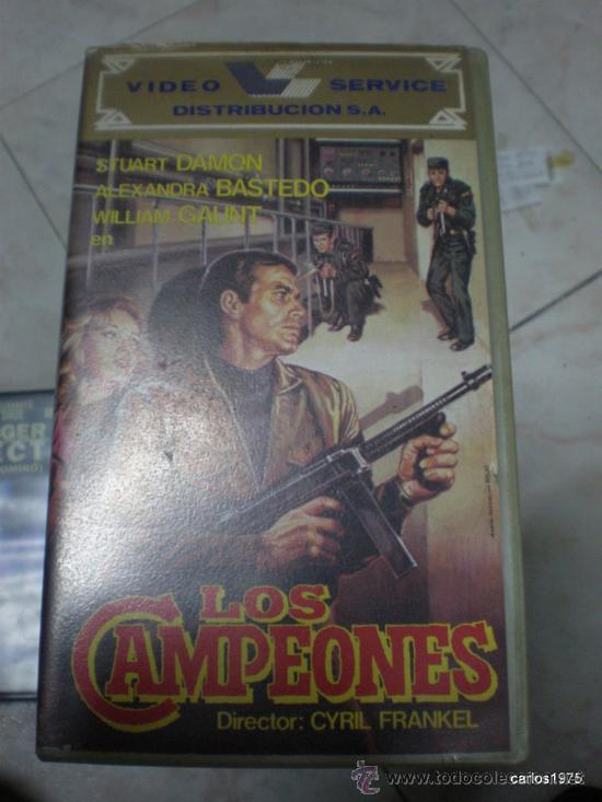 LOS CAMPEONES - STUART DAMON, ALEXANDRA BASTEDO, CYRIL FRANKEL [VHS] (Cine - Películas - VHS)