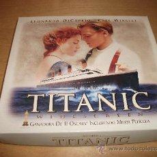 Cine: PACK DE LUJO EN VHS DE LA PELÍCULA TITANIC DE LEONARDO DI CAPRIO. Lote 39379740