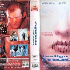 Cine: TESTIGO MUDO. Lote 22647772
