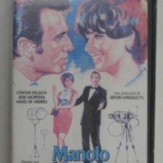 Cine: VHS-RELACIONES CASI PÚBLICAS,MANOLO ESCOBAR,CONCHA VELASCO,JOSÉ SACRISTAN-COLOR1968-NUEVA PRECINTADA. Lote 27480985