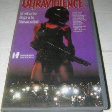 Cine: ULTRAVIOLENCE / CINTA V.H.S.. .. RAREZAS VIDEO EN MI PERFIL, VOLCADO , CONSULTE TÍTULOS. Lote 22883257