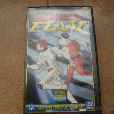 Cine: PELICULA VHS CAPITANE FLAM IDD 1H Y 45 MINS VERSION FRANCESA MANGA DISTRIBUCION 1978. Lote 26714346