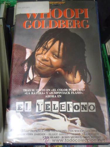 EL TELEFONO - WHOOPI GOLDBERG // DESCATALOGADA / CINE AÑOS OCHENTA / CINTA V.H.S (Cine - Películas - VHS)