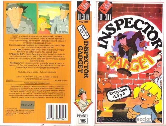 VHS INSPECTOR GADGET - ANIMACION (Cine - Películas - VHS)