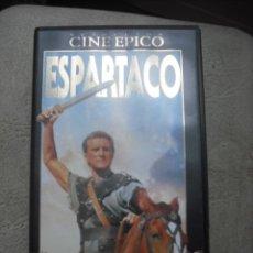 Cine: VHS - ESPARTACO - SELECCION CINE EPICO. Lote 23241625