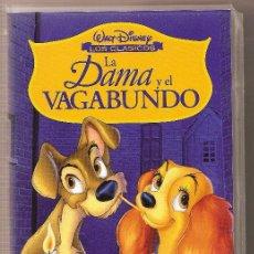 Cine: LA DAMA Y EL VAGABUNDO. Lote 23244931