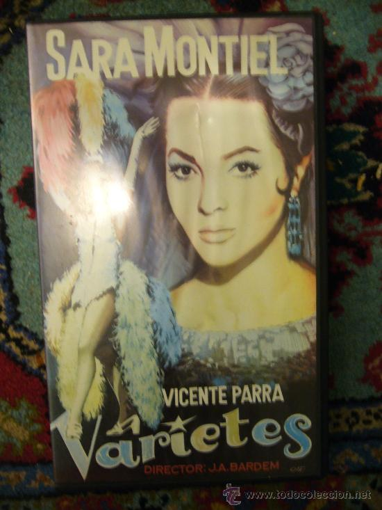 VARIETES,SARA MONTIEL, PELICULA VHS (Cine - Películas - VHS)