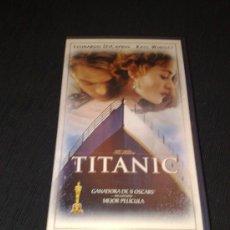Cine: TITANIC VHS. Lote 23413168