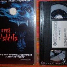 Cine: LUNA MALDITA----TERROR BRUTAL PELI DE HOMBRELOBO-- BESTIAL. Lote 26275942
