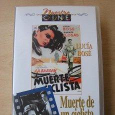 Cine: MUERTE DE UN CICLISTA. LUCIA BOSE. JUAN ANTONIO BARDEM. Lote 23752338