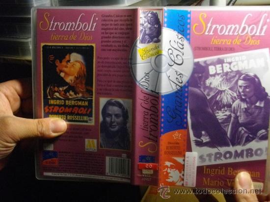 STROMBOLI--VHS--VENTA MINIMA 10 EU-- (Cine - Películas - VHS)