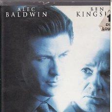 Cine: VHS - VISTO PARA SENTENCIA - ALED BALDWIN. Lote 24528699