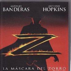 Cine: VHS - LA MASCARA DEL ZORRO. Lote 24528890