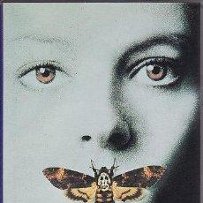 Cine: VHS - EL SILENCIO DE LOS CORDEROS. Lote 24528998