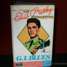 Cine: G.I.BLUES -VHS ELVIS PRESLEY. Lote 24602182