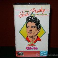 Cine: GIRLS GIRLS GIRLS ELVIS PRESLEY VHS. Lote 24602507