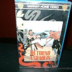 Cine: RETORNO A SHAOLIN VHS. Lote 24912262
