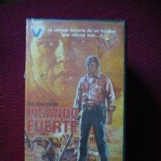 Cine: PISANDO FUERTE (1973) VHS.. Lote 24924339