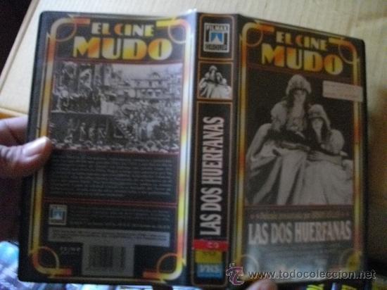 LAS DOS HUERFANAS / CINE MUDO (Cine - Películas - VHS)