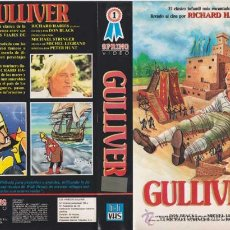 Cine: GULLIVER · RICHARD HARRIS · VHS VIDEO. Lote 27254270