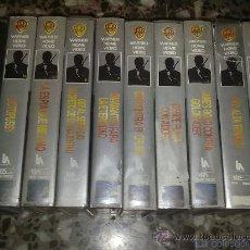 Cine: LOTE 10 PELICULAS VHS JAMES BOND. Lote 25137263