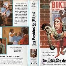 Cine: LOS PECADOS DE MAMÁ • JAVIER AGUIRRE / VHS.. Lote 27381956