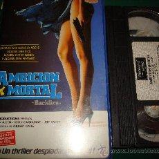 Cine: AMBICION MORTAL. VHS. . Lote 26275657