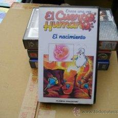 Cine: EL CUERPO HUMANO-DIBUJOS ANIMADOS -VHS-VENTA MINIMA 10 EU--. Lote 26278569