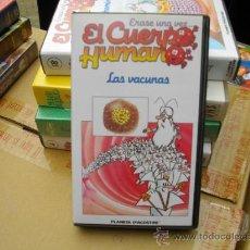Cine: EL CUERPO HUMANO-DIBUJOS ANIMADOS-VHS(VENTA MINIMA 10 EU--). Lote 26279089