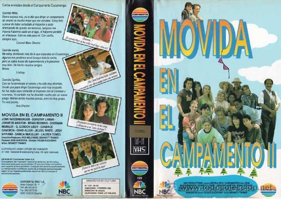 MOVIDA EN EL CAMPAMENTO 2 | VIDEO VHS | TEEN MOVIE (Cine - Películas - VHS)