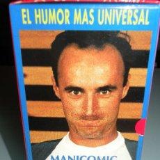 Cine: PACK DE EL TRICICLE. 3 VHS ORIGINALES. MANICOMIC, EXIT Y SLASTIC. . Lote 26694603