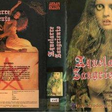 Cine: VHS\. AQUELARRE SANGRIENTO. Lote 26723572