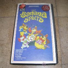 Cine: PELICULA VHS LOS BANANA SPLITS WORLDVISION 90´APROX . Lote 27739540