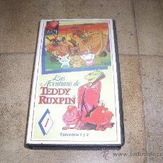 Cine: PELICULA VHS LAS AVENTURAS DE TEDDY RUXPIN 1988 VIDEO COLECCION S.A 50´APROX. Lote 27739683