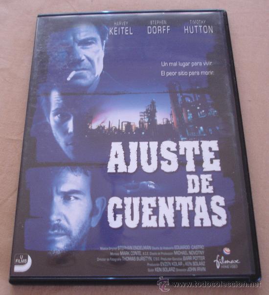 AJUSTE DE CUENTAS - HARVEY KEITEL - STEPHEN DORFF - TIMOTHY HUTTON, - FILMAX. (Cine - Películas - VHS)