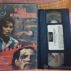 Cine: EL DIA DE LOS MUERTOS TERROR VHS SEGUNDA PARTE DE LA SAGA ZOMBI DE ROMERO. VERSIÓN ÍNTEGRA DE 1985. Lote 28109771