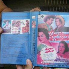 Cine: DOS TIPOS DE CUIDADO.JORGE NEGRETE.VHS. Lote 28272897