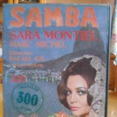 Cine: SAMBA / SARA MONTIEL / VHS. Lote 28334093