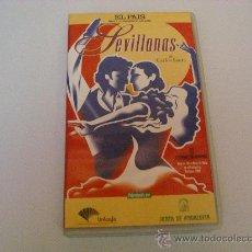 Cine: SEVILLANAS DE CARLOS SAURA. VHS. Lote 28344481