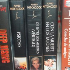 Cine: LOTE 3 CINTAS VHS SERIE ALFRED HITCHCOCK. Lote 28383751
