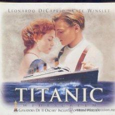 Cine: TITANIC (EDICIÓN DE LUJO) INCLUYE DIVERSAS POSTALES Y UN CELL (POSITIVO DE 35 MM CON VARIAS IMÁGENE). Lote 28572524