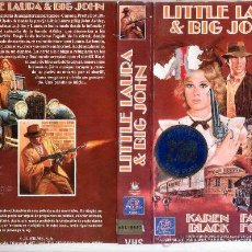 Cine: LITTLE LAURA-VHS. Lote 28459213