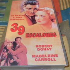 Cine: KITUS1983 --- 39 ESCALONES (ALFRED HITCHCOCK). Lote 28462406