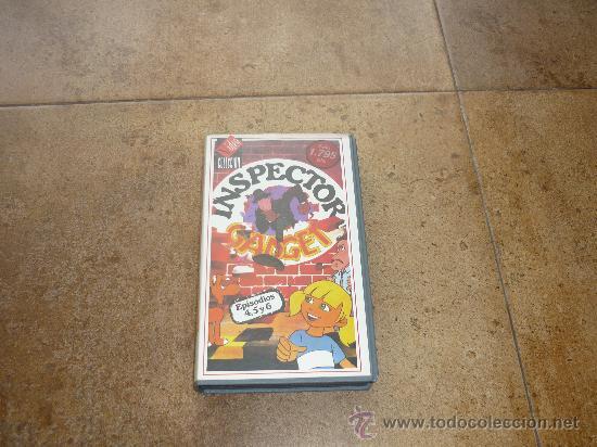 VHS INSPECTOR GADGET - ANIMACION VIDEO COLECCION AÑOS 80 65´APROX (Cine - Películas - VHS)