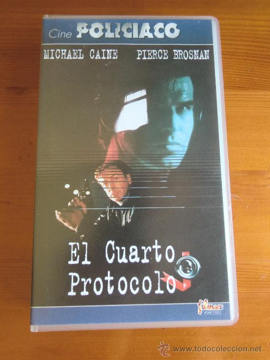 VHS EL CUARTO PROTOCOLO (1987) DE JOHN MACKENZIE. CON MICHAEL CAINE Y PIERCE BROSNAN. ¡NUEVA! (Cine - Películas - VHS)