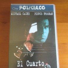 Cine: VHS EL CUARTO PROTOCOLO (1987) DE JOHN MACKENZIE. CON MICHAEL CAINE Y PIERCE BROSNAN. ¡NUEVA!. Lote 28511299
