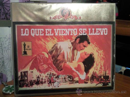 LO QUE EL VIENTO SE LLEVO EN VHS. EDICION COLECCIONISTA. (Cine - Películas - VHS)